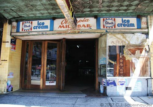 The almost-legendary Stanmore milk bar in Parramatta Road.