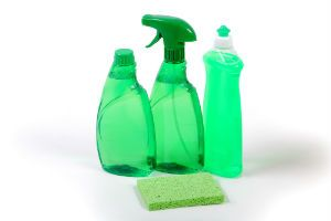 cleaning products made from vinegar, baking soda, olive oil, hydrogen peroxide: Makes many safe, inexpensive, green, Eco friendly household cleaning supplies