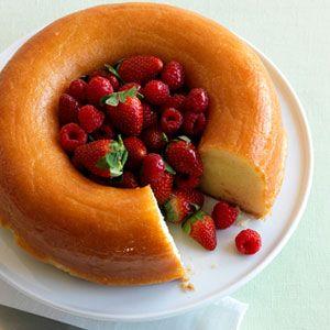 Lemon-Berry Savarin