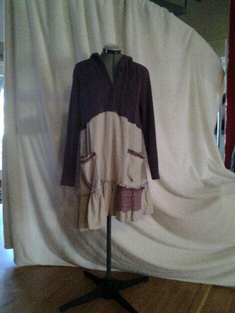 Shabby Chic Dress /Tunic      L  XL