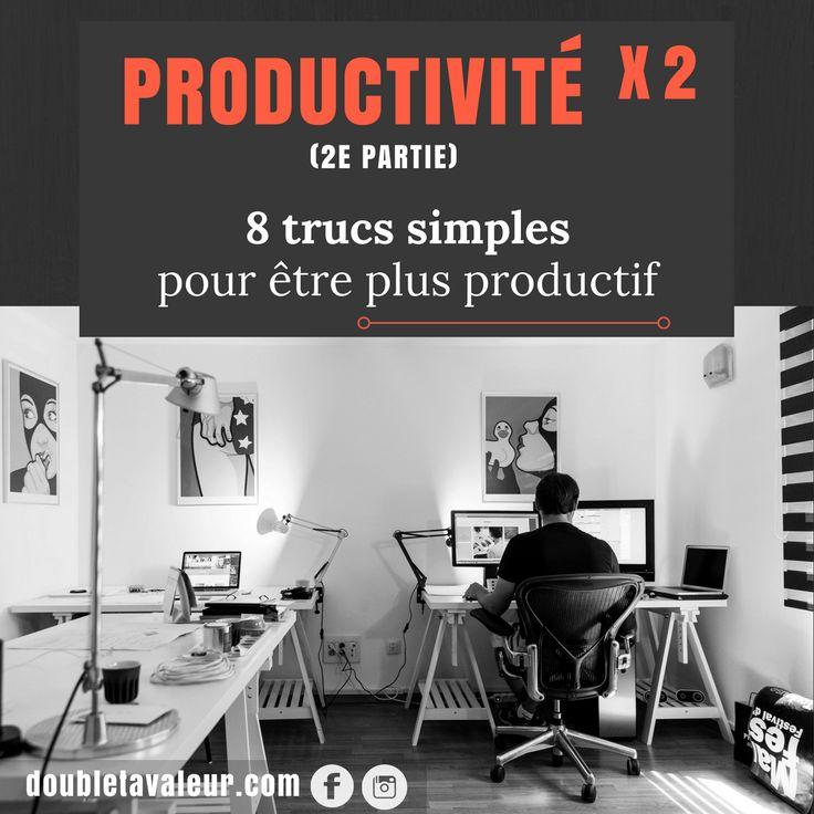"""Savais-tu que ton bien-être au travail est directement lié à ta productivité? Voilà 8 trucs simples pour """"pimper"""" ton bureau pour être plus productif!"""