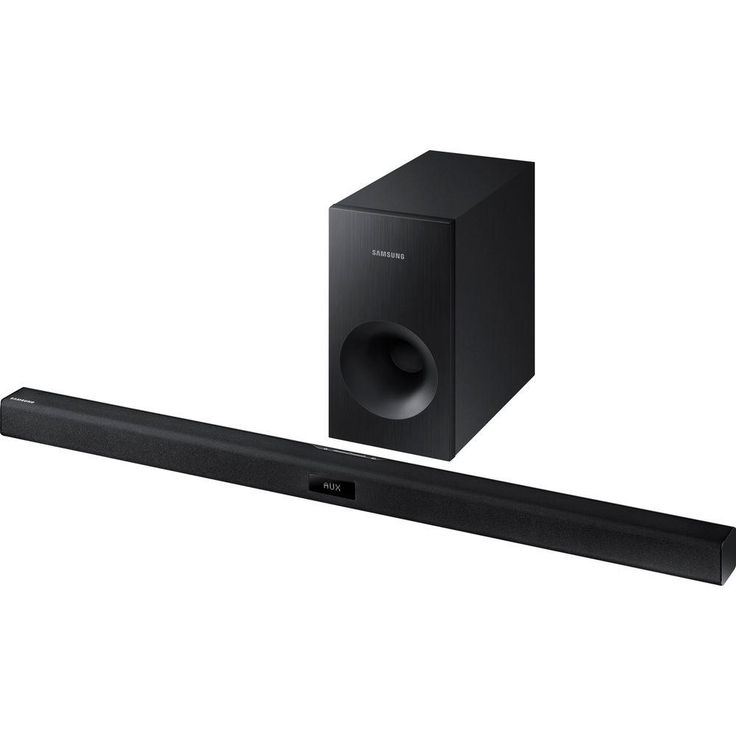 2.1-Channel Soundbar System with Wired Passive Subwoofer