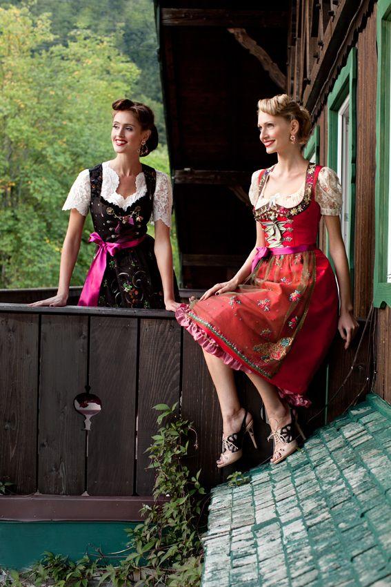 Lola Paltinger Dirndl - für jeden Frauentyp die richtige Farbe passend zum Teint