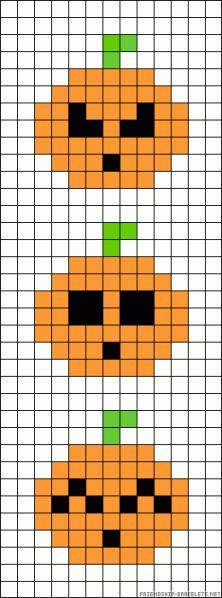 Halloween / jack o'lantern charts