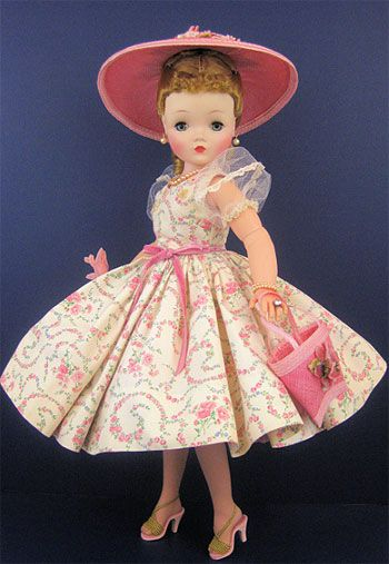 Fictional characters. I have a doll almost identical! An Elise doll. This is a mint condition cissy doll Madame Alexander