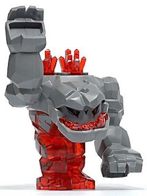 Lego power #miners #minifigure ' tremorox' -  #large rock monster from set no. 87,  View more on the LINK: http://www.zeppy.io/product/gb/2/231966296778/