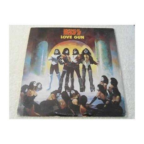Kiss - Love Gun Vinyl LP Record For Sale #Kiss #KissBand #KissLPs #KissVinyl #KissRecords #KissAlbums #ClassicRock #Rock #HardRock #RockVinyl #VinylRecords #RecordAlbums