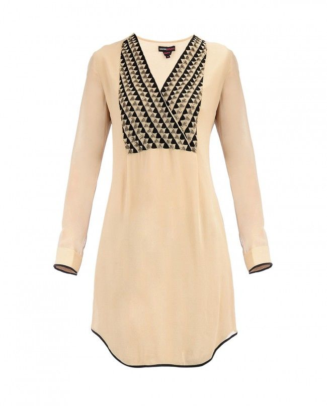 Blush Temple Yoke Tunic | SHOP NOW ON : http://bit.ly/NamrataJoshipura_shop