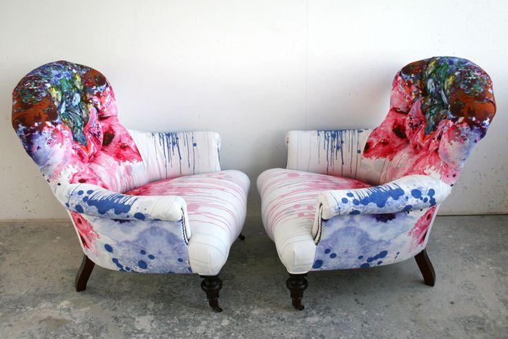 Thunderclap arm chair : Furniture - Timorous Beasties