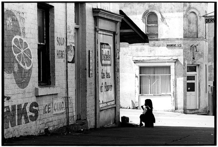 Derwent Street, Glebe in 1973. This photo has a sense of optimism about it, don't you think? We love the old sign-writing too. #sydney #cityofsydneyarchives #history #archives