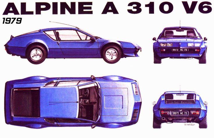 tutorials3D.com - Blueprints: Renault Alpine A310 V6
