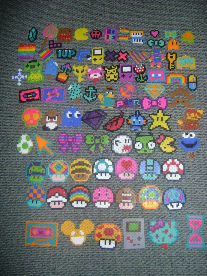 cool hama bead designs - Buscar con Google