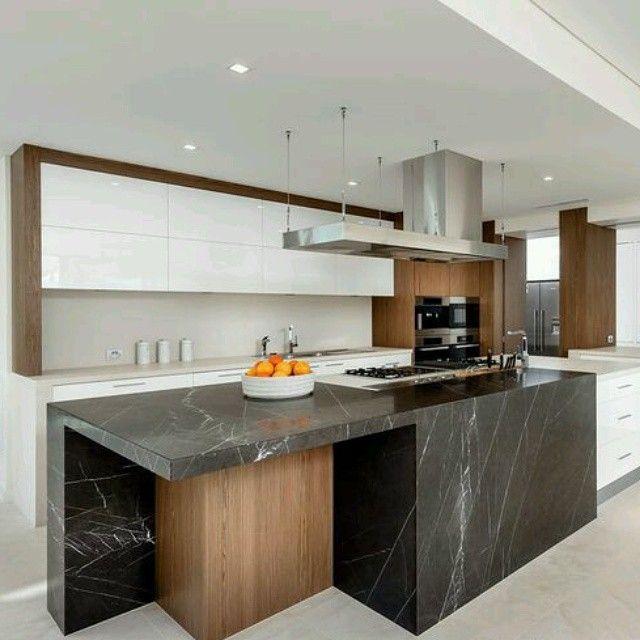 Arquitectura Creativa :#mármol decoración cocina
