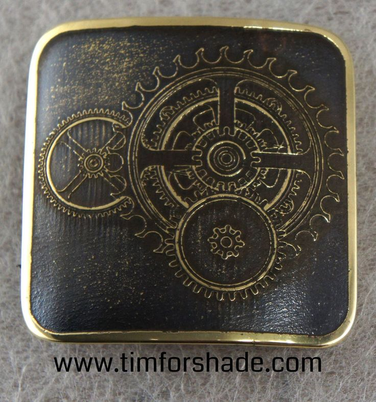 Cogs brass belt buckle by TimforShade on DeviantArt