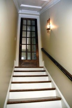Martina Basement Staircase - traditional - staircase - atlanta - Phoenix Renovations