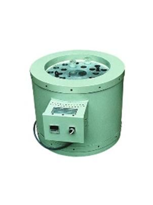 Dry Bath Aging Block To be used for determining the long-term effects of elevated temperature on various materials like rubber, plastics, textile etc. Samples are placed in glass tubes. The 24 holes for insertion of the tubes are 38mm by 280mm