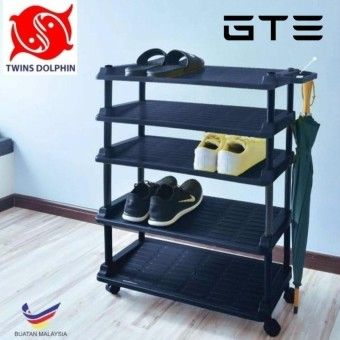 Check Price Twins Dolphin 5 Tier Shoe Rack With U-Stand - Fulfilled by GTE SHOPOrder in good conditions Twins Dolphin 5 Tier Shoe Rack With U-Stand - Fulfilled by GTE SHOP ADD TO CART TW157HLAA7AY9WANMY-15429734 Furniture & Decor Storage & Organisation Shoe Organisers GTE Twins Dolphin 5 Tier Shoe Rack With U-Stand - Fulfilled by GTE SHOP