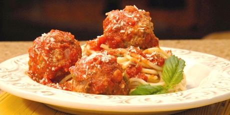 Someone Pasta Meatballs - Eat Shrink & Be Merry