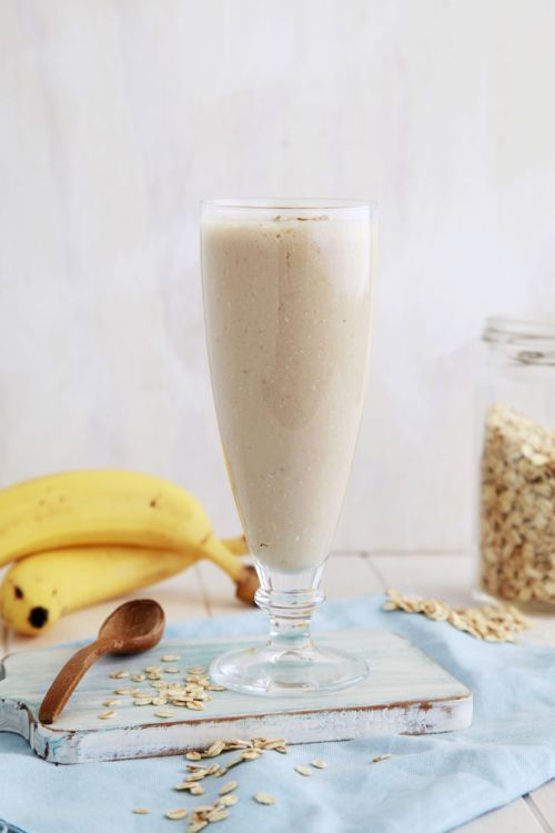 Coconut, Banana and Oat Lactation Smoothie