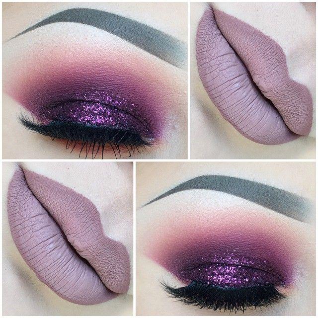 25+ best ideas about Purple makeup on Pinterest | Glitter ...