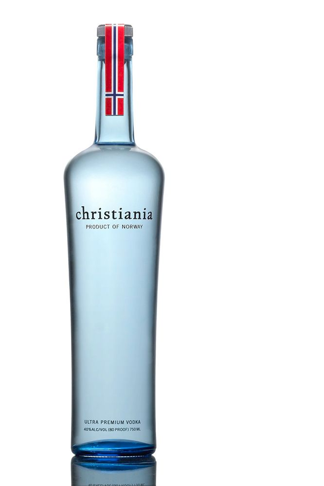 A super smooth premium vodka from Norway, Christiania can be used to make some very fine cocktails. #Vodka