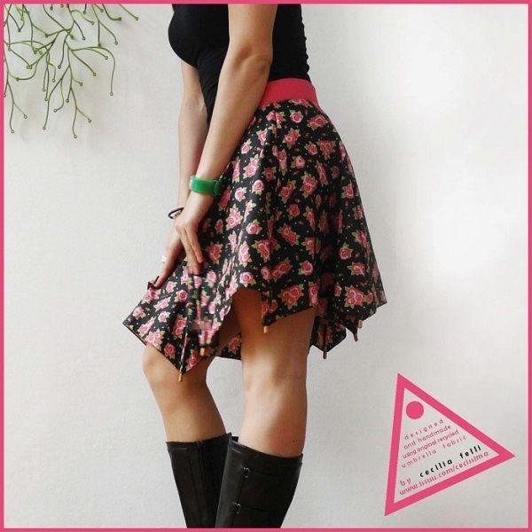 お気に入りの傘がスカートに!真似したくなる素敵なDIYファッション - Yahoo! BEAUTY