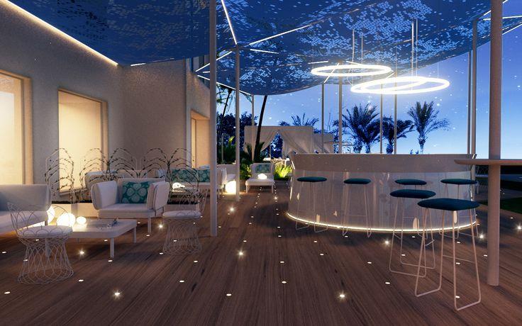Hotel Sharm-El-Sheik Spa - Egypt / outdoor lounge
