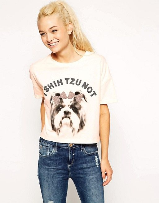 ASOS - I Shih Tzu Not Top