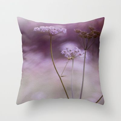 Inflorescence - Throw Pillow by Max Steinwald - $20.00