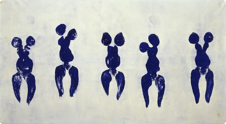 Anthropométrie - Yves Klein - 1961