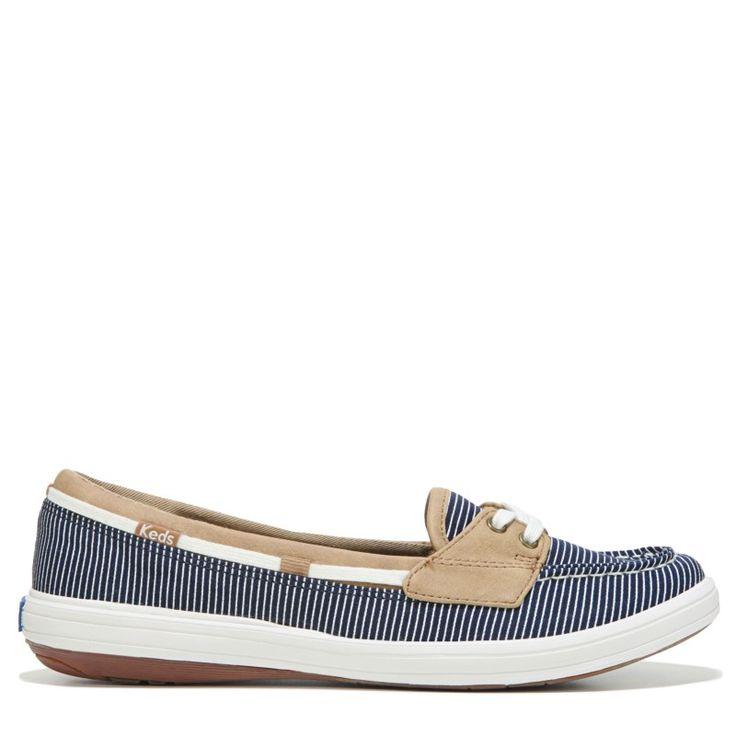 Keds Women's Glimmer Slip On Shoes (Navy) - 11.0 M