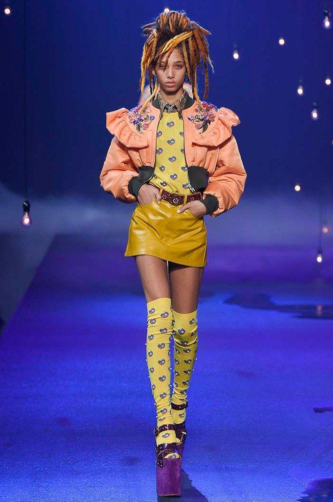 Marc Jacobs Spring 2017 Ready-to-Wear Fashion Show - Yasmin Wijnaldum