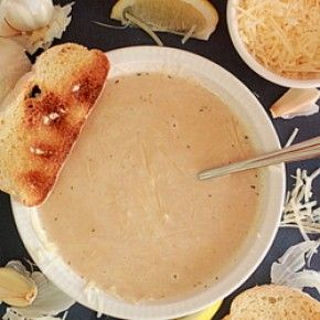 40 Cloves of Garlic Soup | Vegan | Pinterest