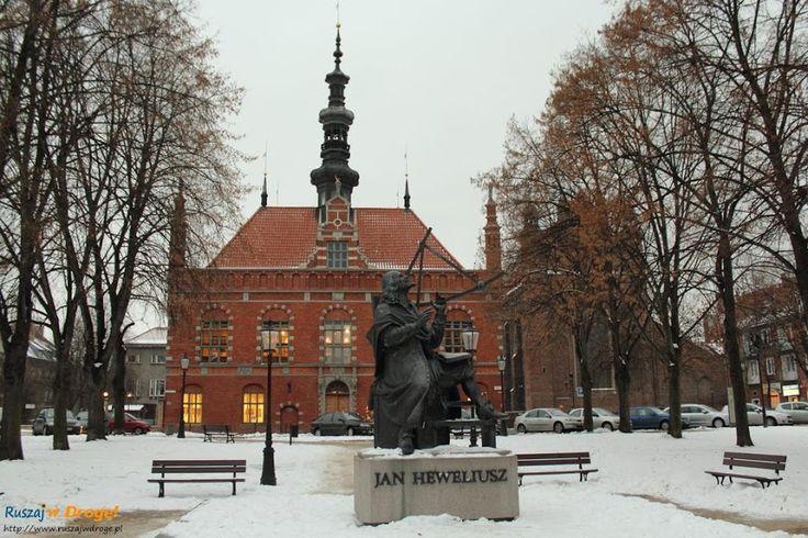 #Pomnik #Heweliusz na Starym Mieście w #Gdańsk, #Poland