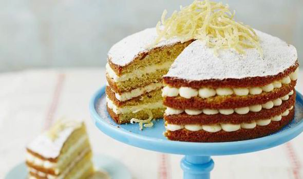 Sweet shop favourite: Sherbet Lemon Cake by Bake Off winner John Whaite