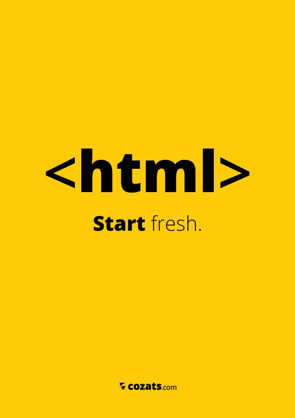 Designer Applies Short Quips to Common HTML Tags