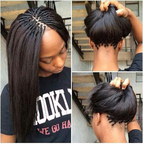 Pick and drop braids