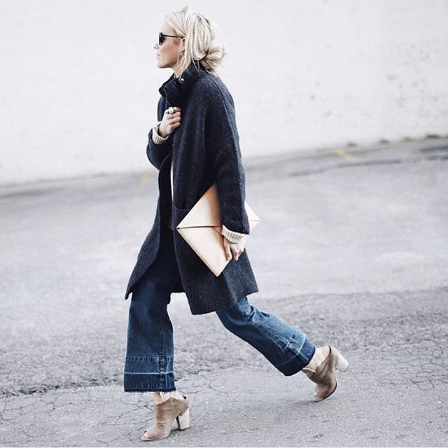 The Chic Style Pairing For Winter You Haven't Tried Yet but Should