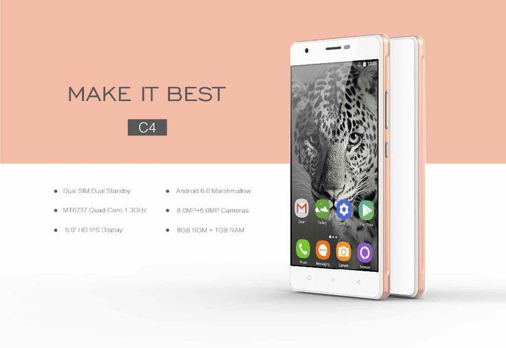 OUKITEL C4 Beautiful Phone