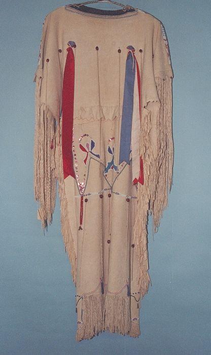 Платье Кайова. Период 1920 год. Оклахома.
