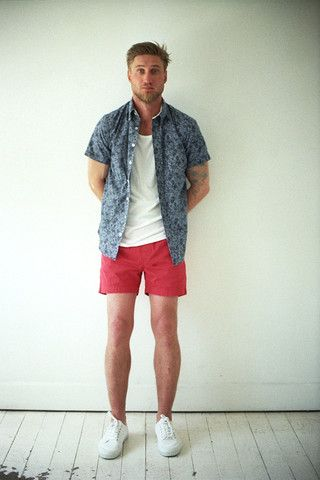 Stanley Short Sleeve Shirt + Lester Singlet/Vest + Archie Short