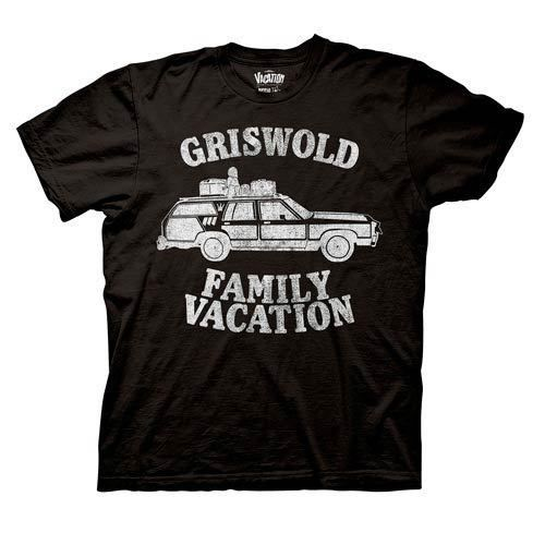 National Lampoon's Griswold Family Vacation Black T-Shirt #RippleJunction #TShirts