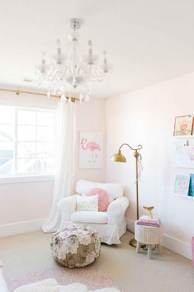 Blush pink wall color Kids Space Design Ideas in 2018 Pinterest