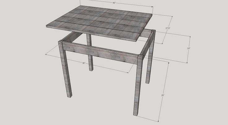 Dog Crate Hack Table Build by SnazzyLittleThings