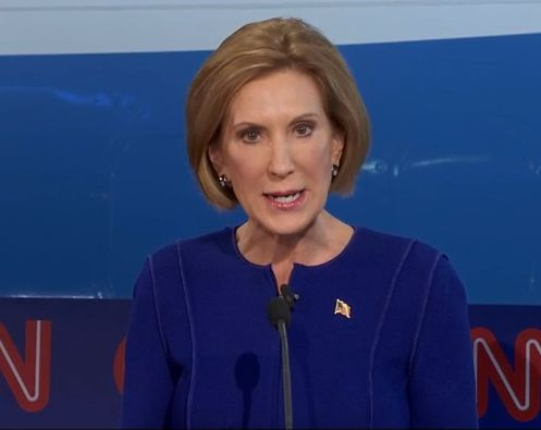 """FACT: Carly Fiorina is a liar-liar-pantsuit-on-fire LIAR. She's been lying for more than a week about watching a fetus snuff flick that does not exist, as everyone in the known universe has pointed out to ... ""THE FUCKING VIDEO DOES NOT FUCKING EXIST."""