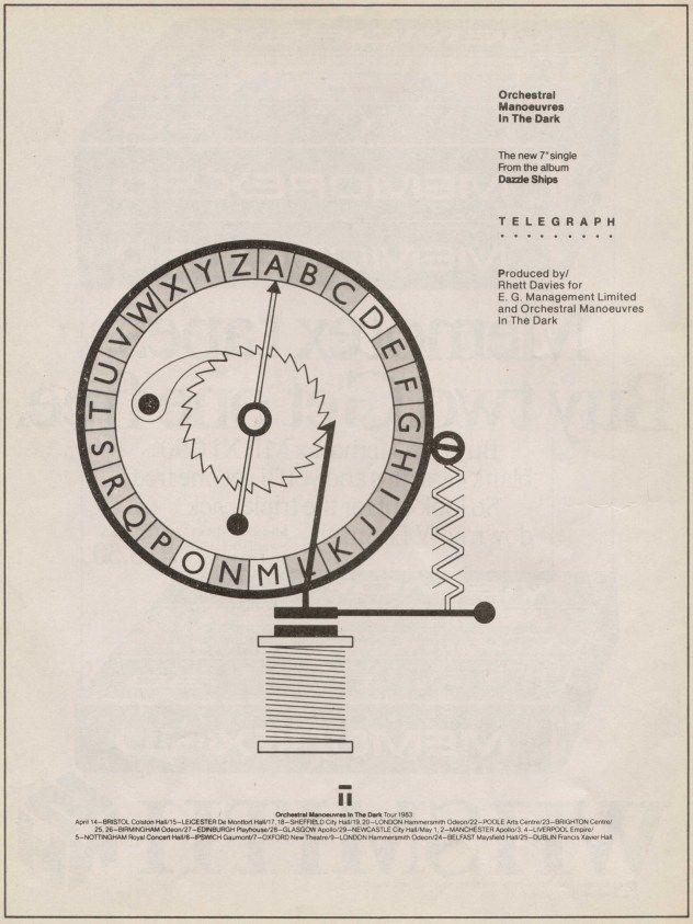 Peter Saville - OMD - 1983
