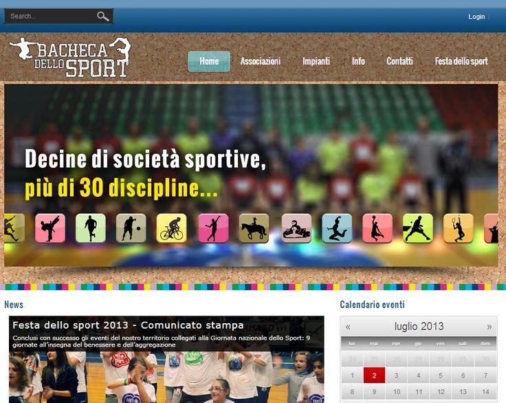 Home page di www.bachecadellosport.it