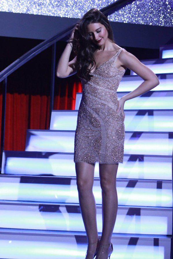 Taliana Vargas, bailando  con las estrellas