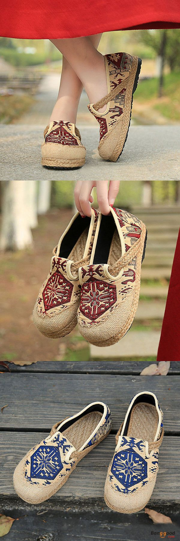 US$24.53+Free shipping.Summer Shoes, Women Flat Shoes, Shoes Flats, Women Fashion Casual, Women Fashion for Summer. Love retro style, casual, outdoor, comfortable. Heel Height: 1-3cm. Platform Height: 1-3cm. Color: Red, Wine Red, Blue, Green. Size(US): 5-9.