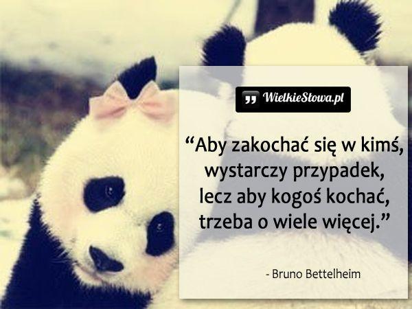 Aby zakochać się w kimś... #Bettelheim-Bruno, #Miłość